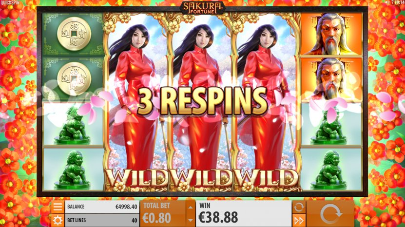 Sakura Fortune Slot by Quickspin