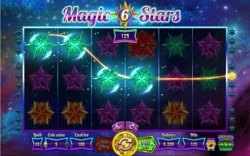 Magic Stars 6 Slot