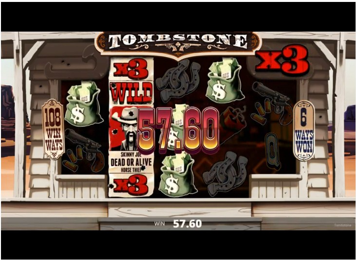 Tombstone Slot Gameplay