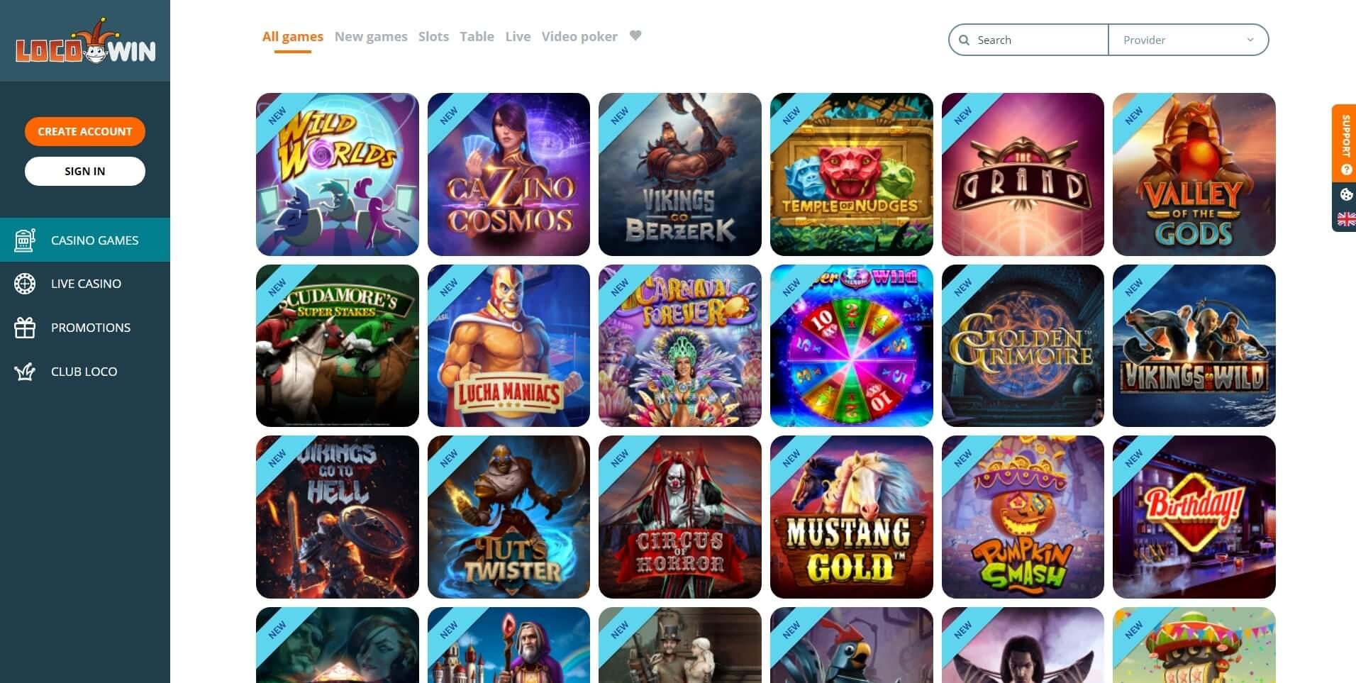 locowin casino slots