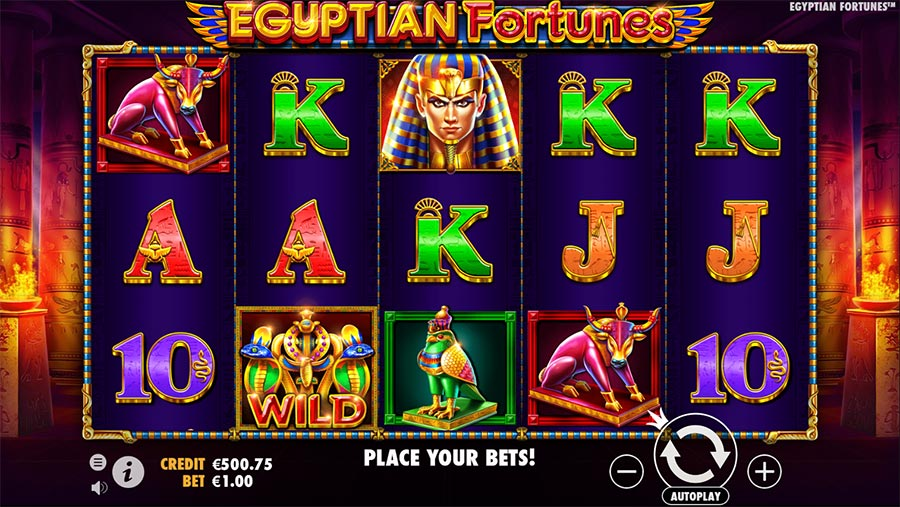 Egyptian Fortunes Slot Gameplay