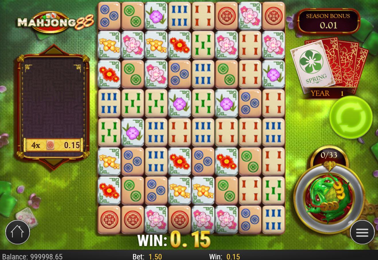 Mahjong 88 Slot Gameplay