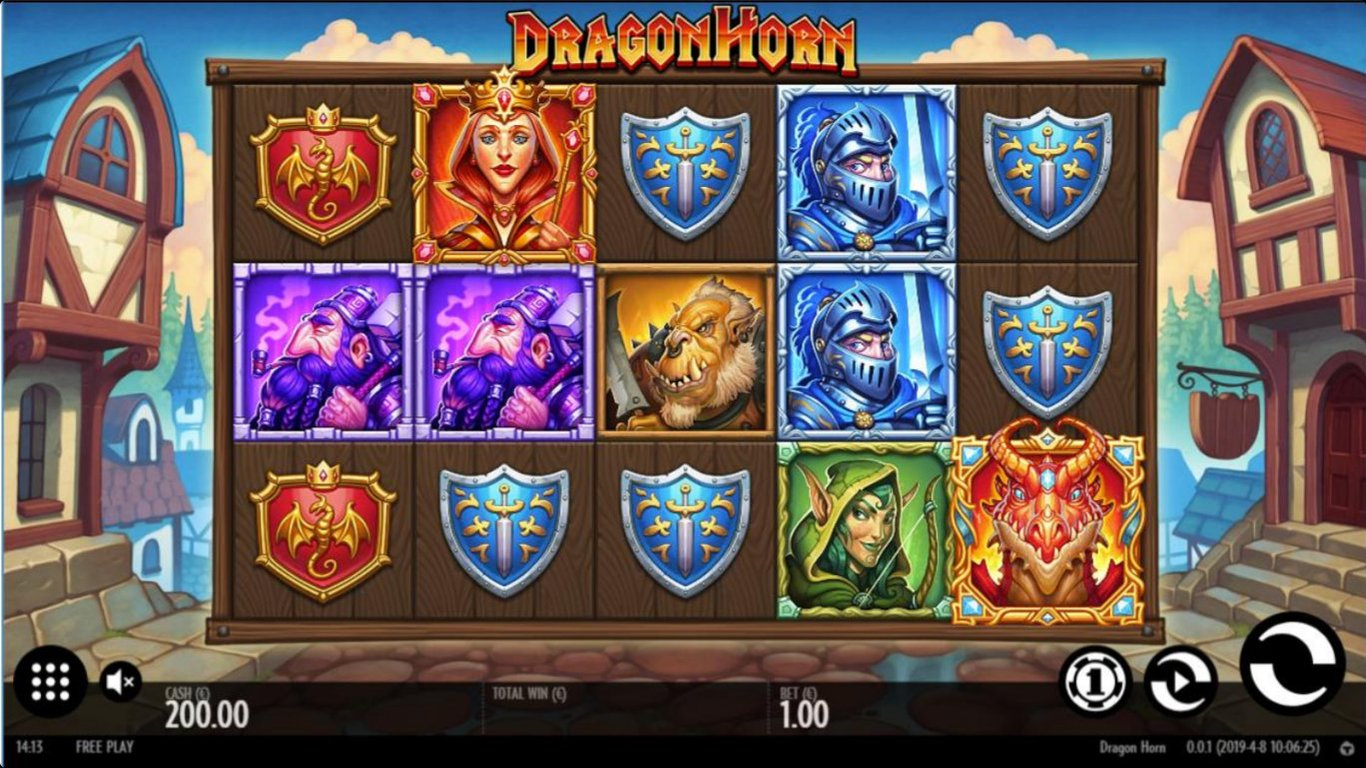 Dragon Horn Slot Gameplay