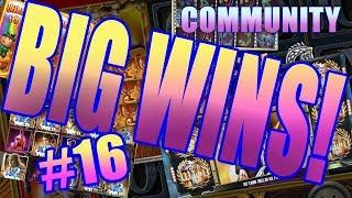 big wins slots community