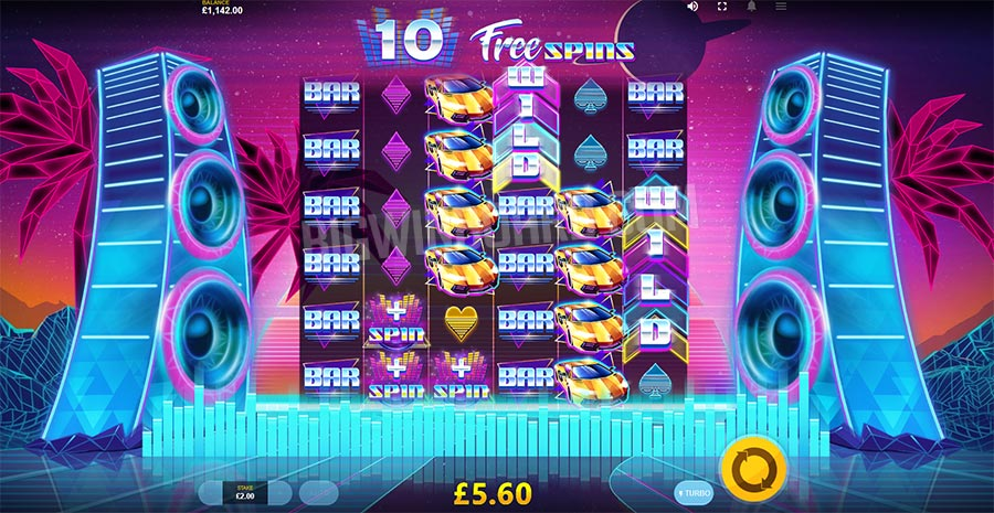 The Equalizer Slot Gameplay