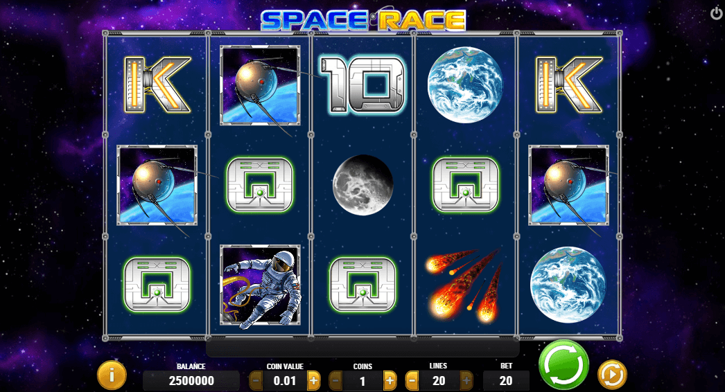 space race slot
