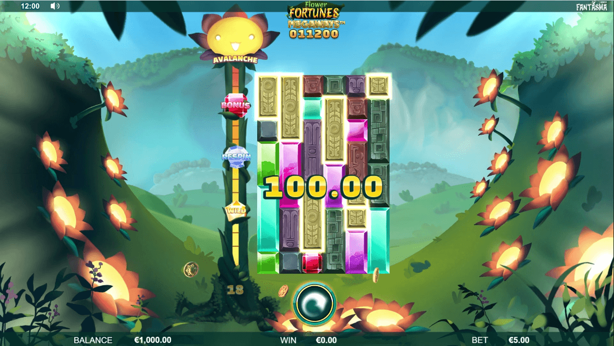Flower Fortunes Megaways Slot Gemeplay