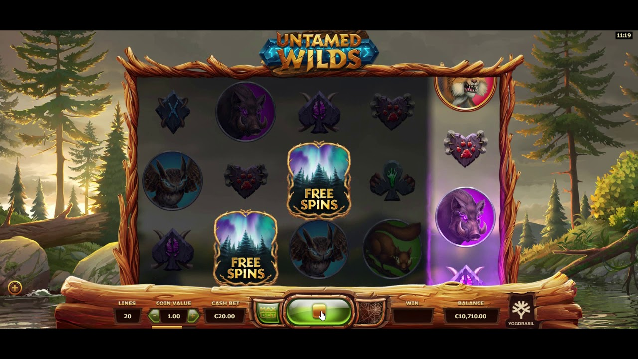 Untamed Wilds Slot Gameplay