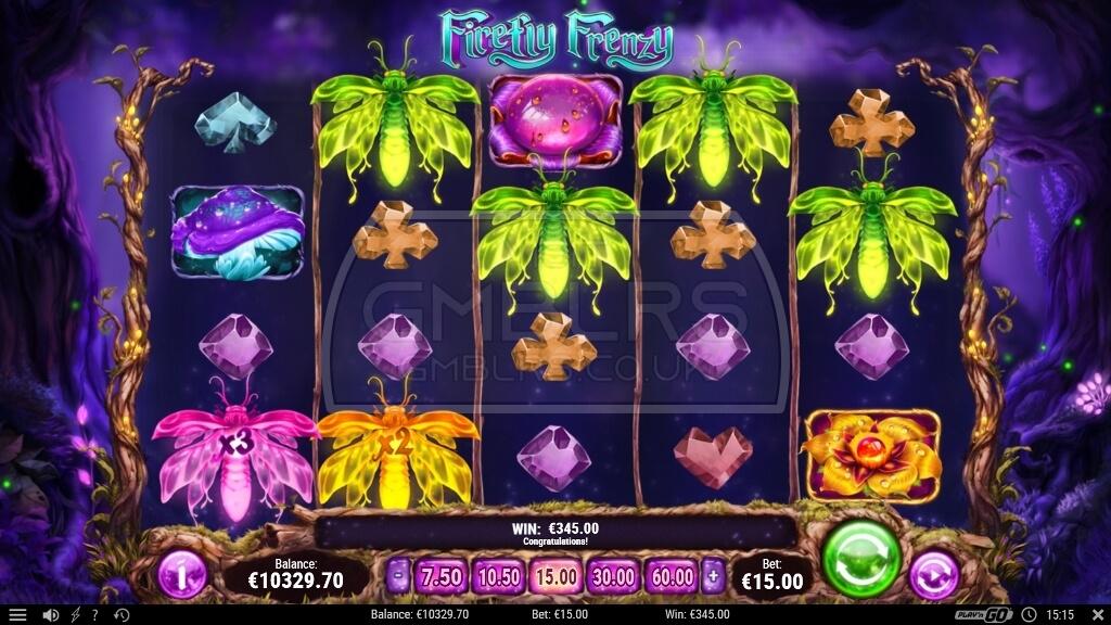 Firefly Frenzy Slot Gameplay