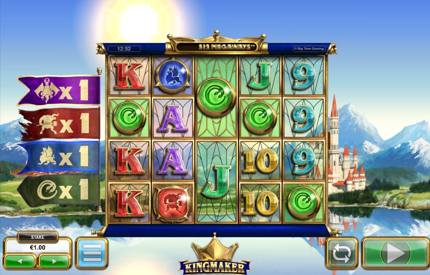 Kingmaker Slot Gameplay