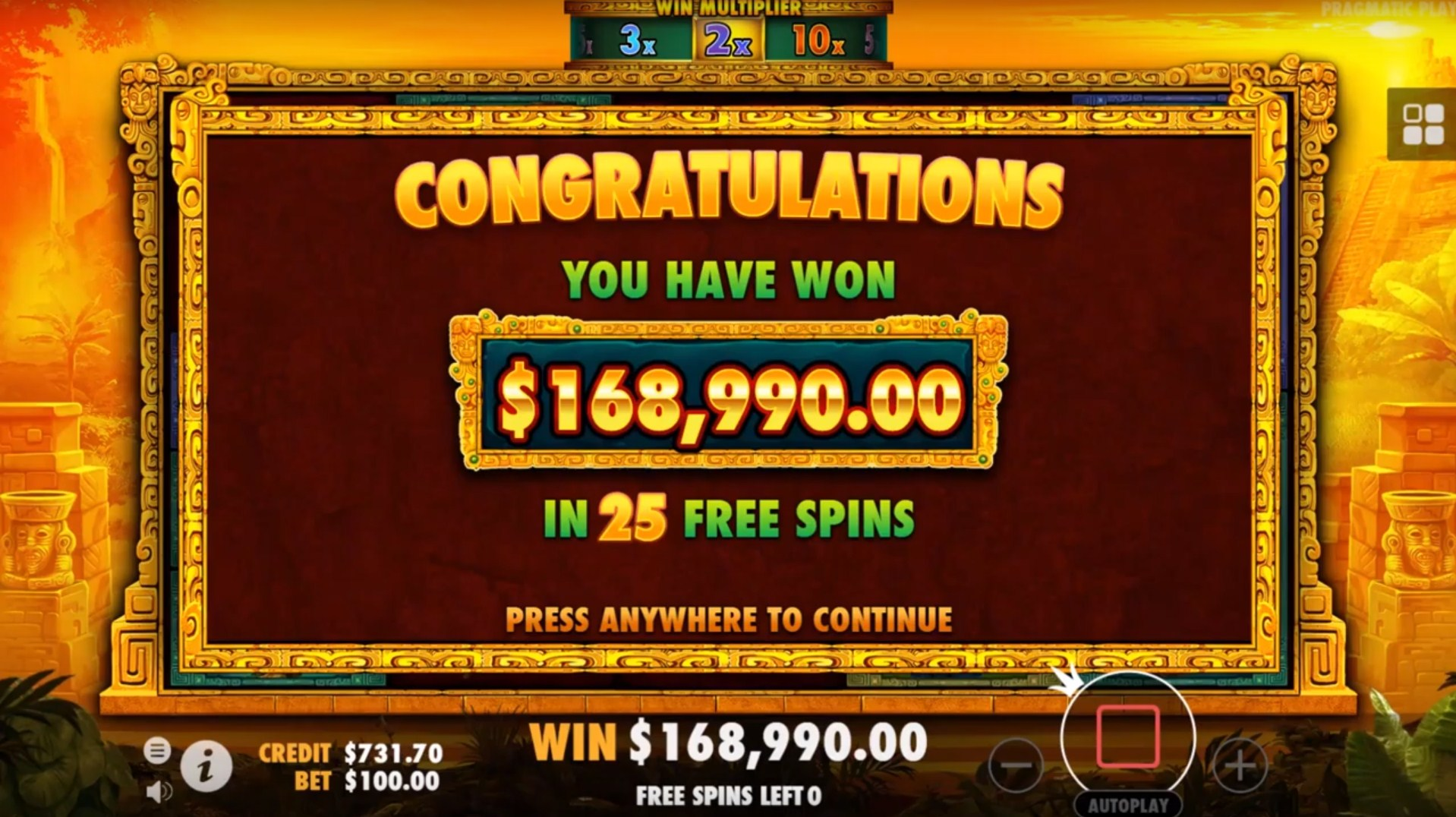 John Hunter and the Aztec Treasure Slot Gameplay