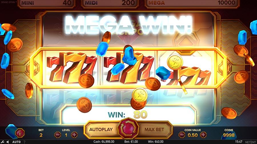 Grand Spinn Slot Gameplay