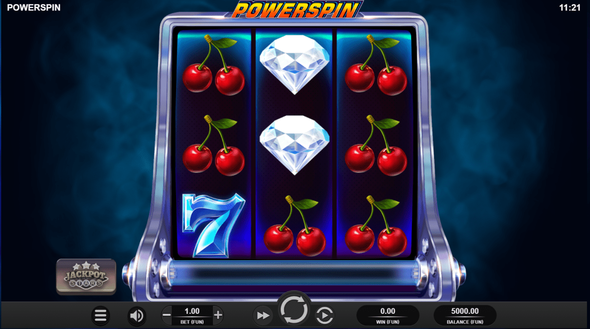 Powerspin Slot Gameplay