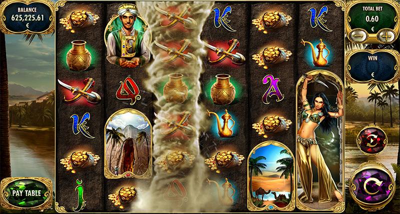 Adventures of Ali Baba Slot Gameplay
