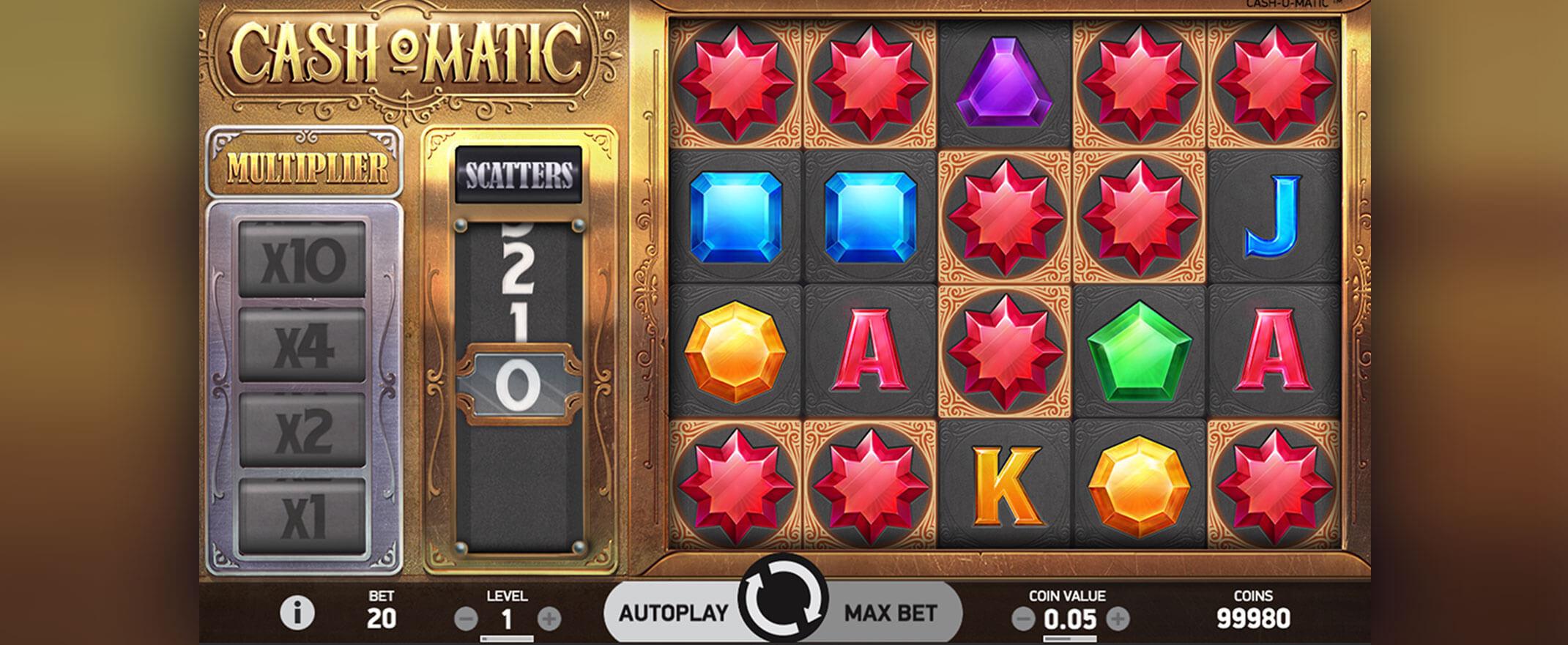 Cash-o-Matic Slot Gameplay