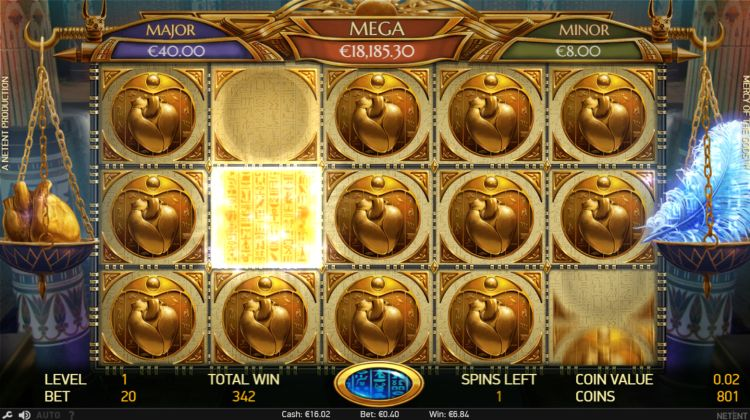 Mercy of the Gods Slot Gameplay