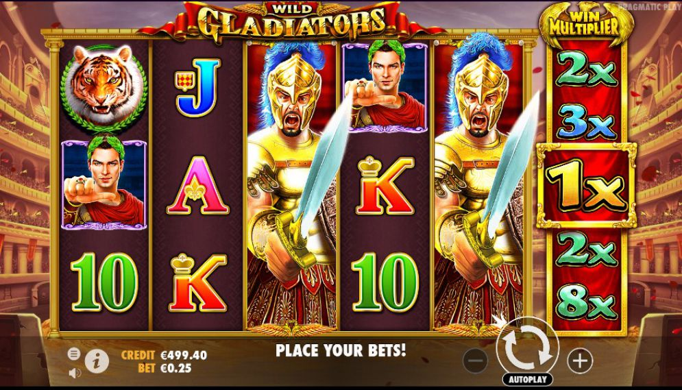 Wild Gladiators Slot Game