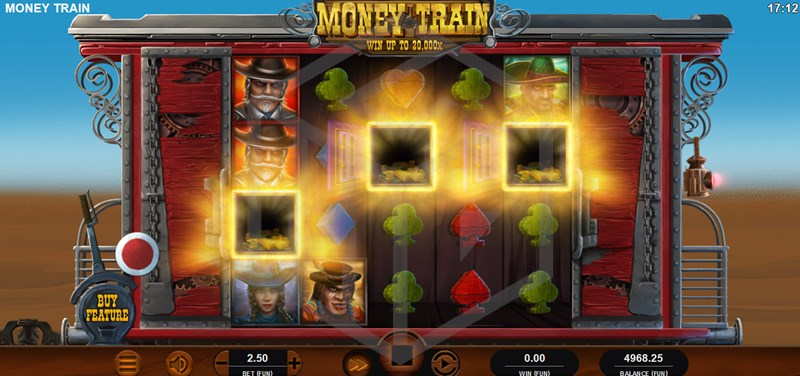 Money Train Slot Gameplay