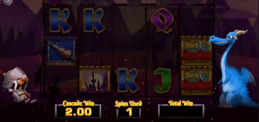 Dork the Dragon Slayer Slot Gameplay