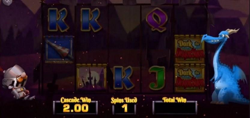 Dork the Dragon Slayer Slot Gameplay
