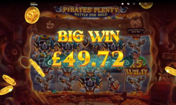 Pirates' Plenty 2: Battle for Gold Slot Gameplay