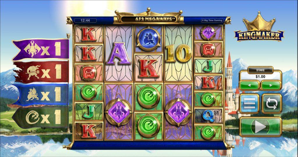 Kingmaker Megaways Slot Gameplay