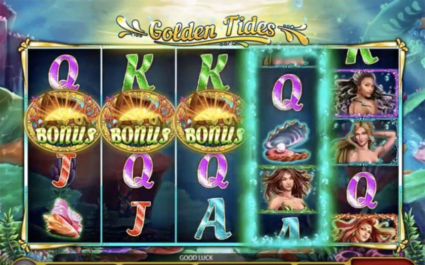 Golden Tides Slot Gameplay