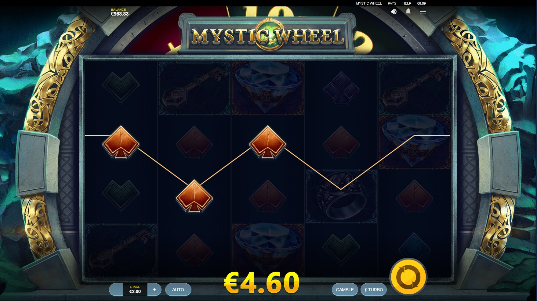 Mystic Wheel Slot Gameplay