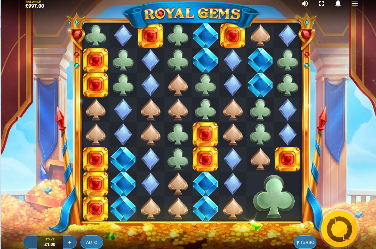 Royal Gems Slot Gameplay