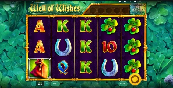 Well of Wishes Slot Gameplay