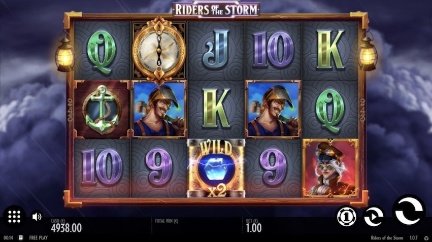 Riders of the Storm Slot Gameplay