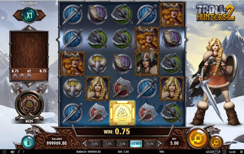 Troll Hunters 2 Slot Gameplay