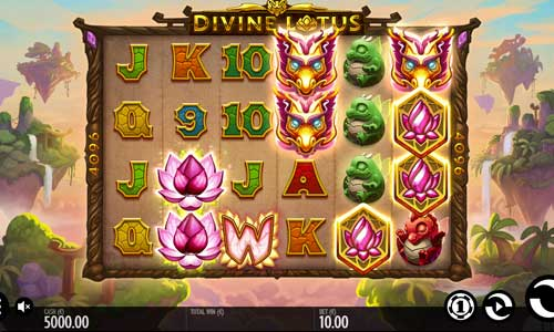 Divine Lotus Slot Gameplay