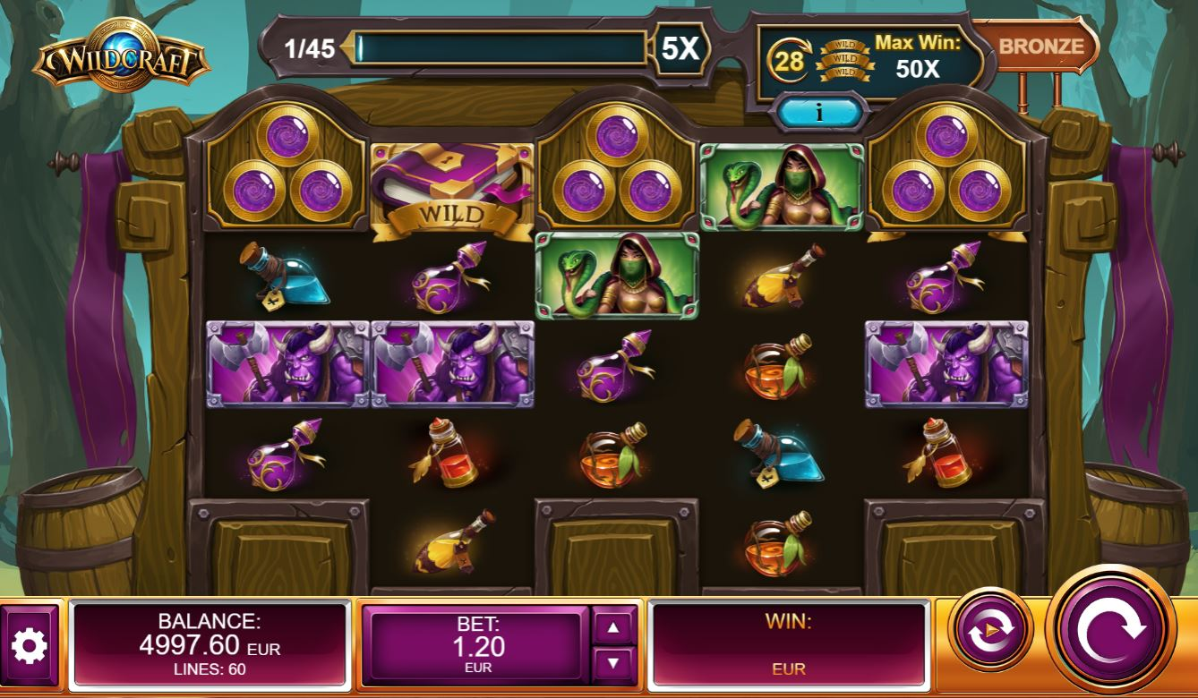 Wildcraft Slot Gameplay