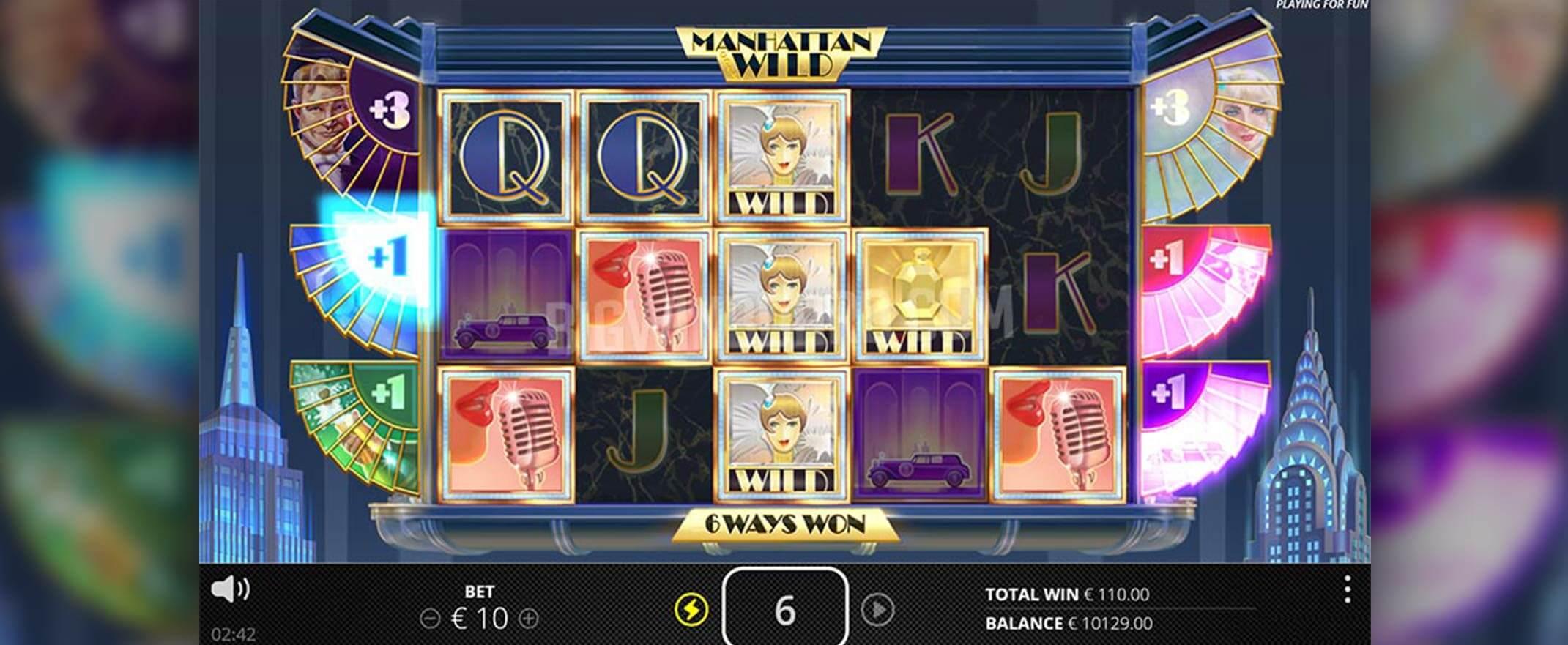 Manhattan Goes Wild Slot Gameplay
