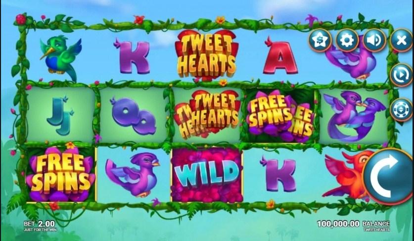 Tweethearts Slot Gameplay