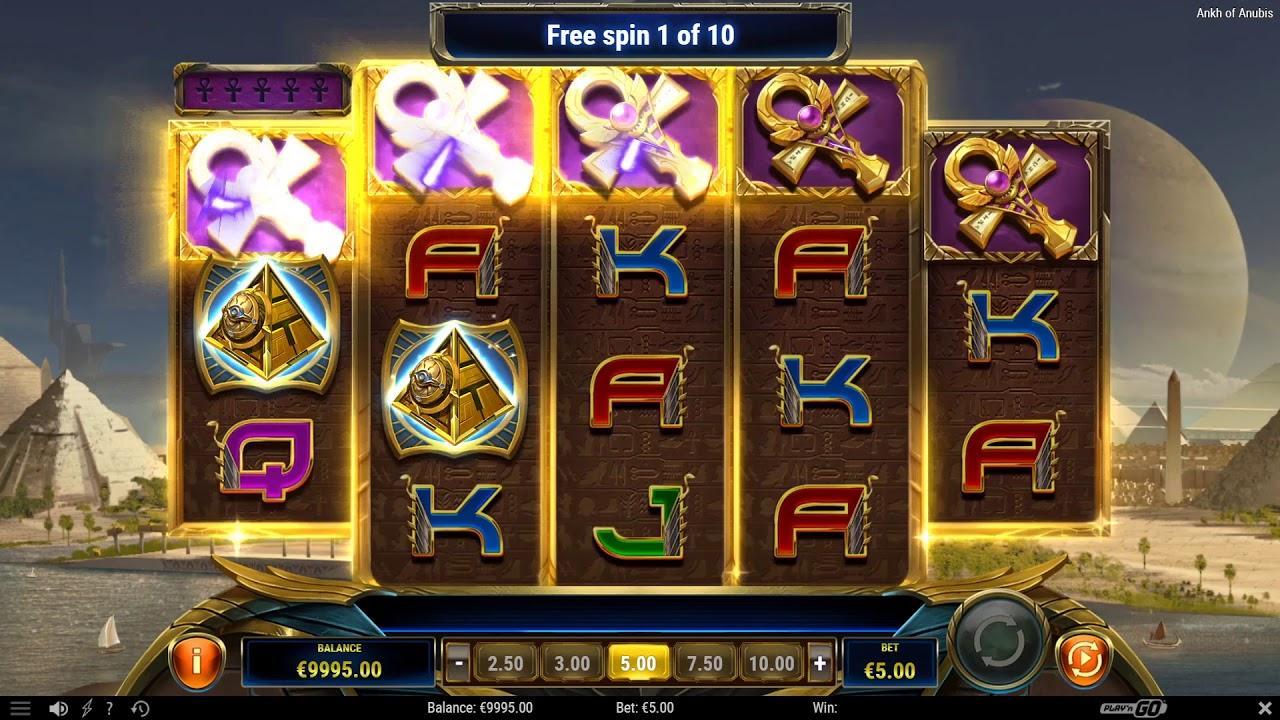 Ankh of Anubis Slot Gameplay
