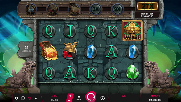 Treasures of Lion City Slot Gameplay