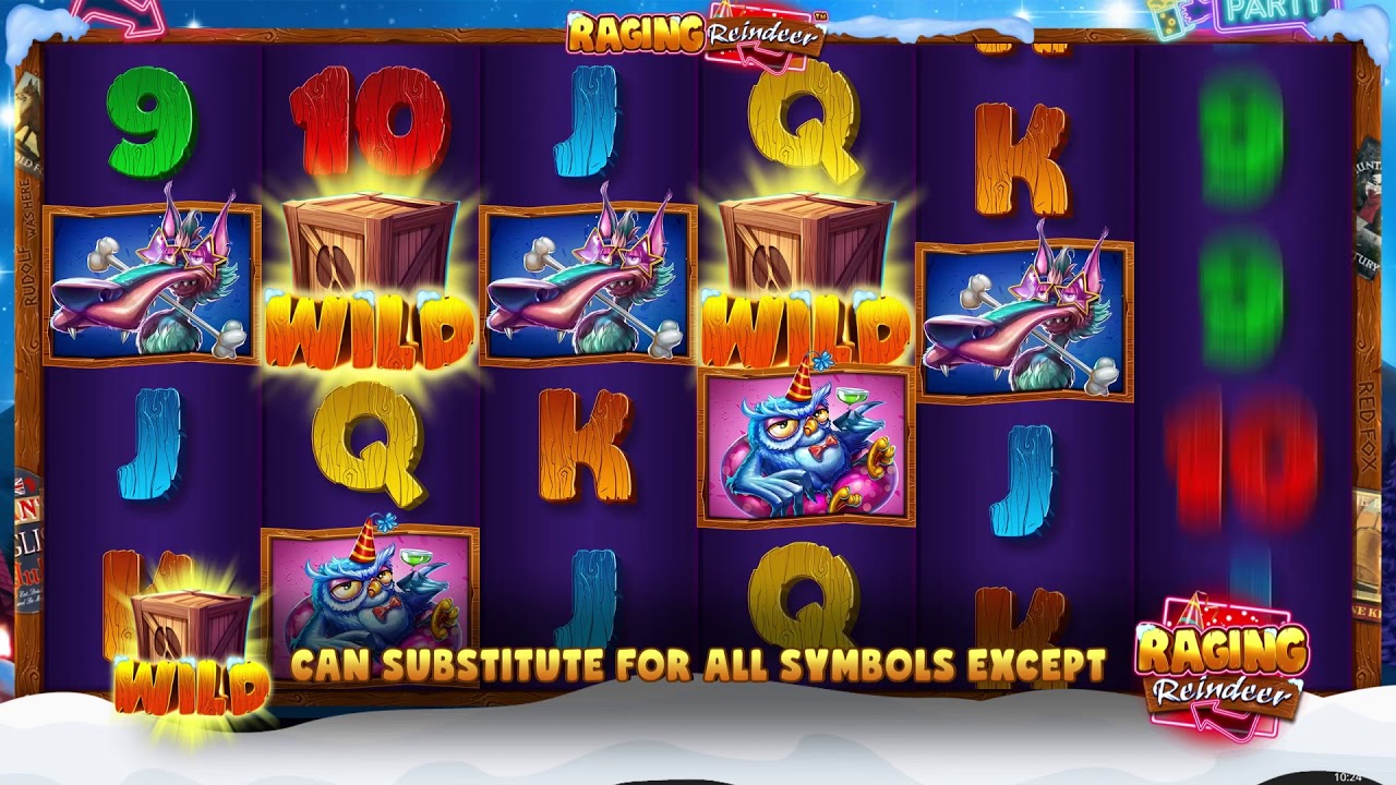 Raging Reindeer Slot Gameplay