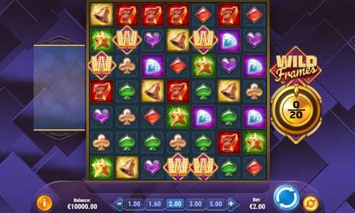 Wild Frames Slot Gameplay