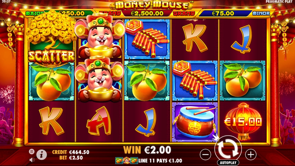 Money Mouse Slot Gameplay