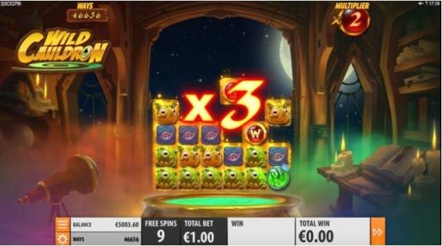 Wild Cauldron Slot Gameplay