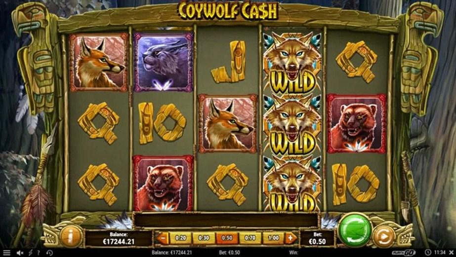 Coywolf Cash Slot Gameplay