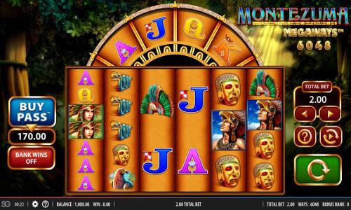 Montezuma Megaways Slot Gameplay