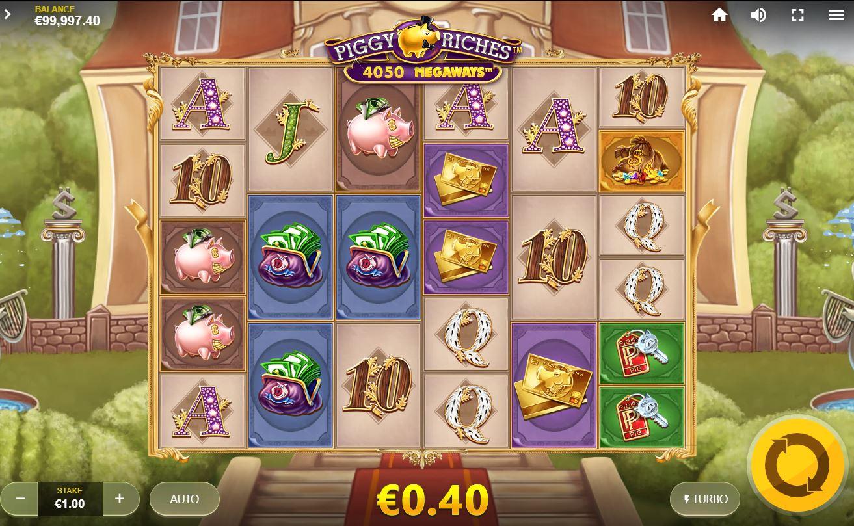 Piggy Riches Megaways Slot Gameplay