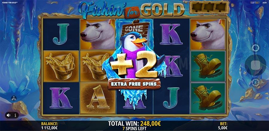 Fishin' for Gold Slot Gameplay