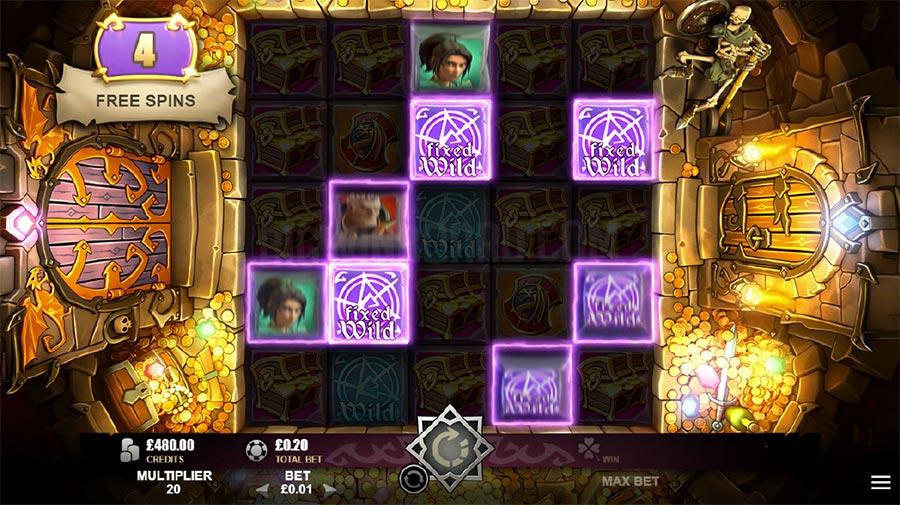 Treasure Heroes Slot Gameplay