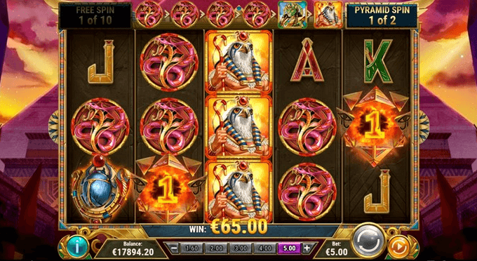 Dawn of Egypt Slot Gameplay