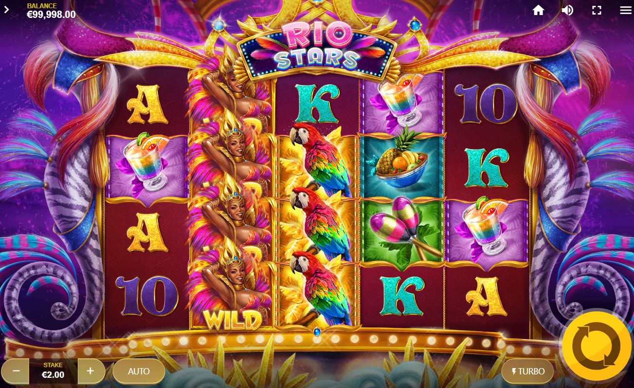 Rio Stars Slot Gameplay