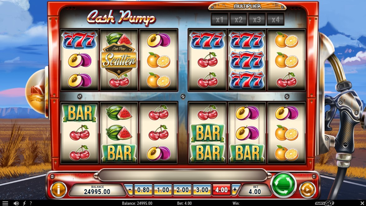 Cash Pump Slot Gameplay